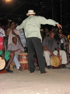 Danse lors d'un léwòz