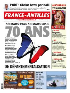 Une France Antilles Departementalisation